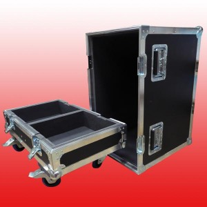Flight case para 2 altavoces NEXO PS10