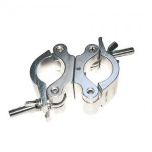 Abrazadera doble para tubo Ø50