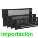 Puerta de rack con ventilación